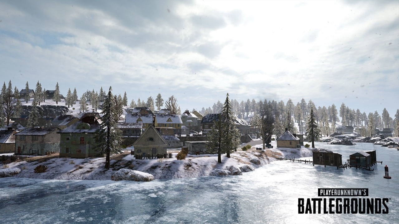 The PUBG Winter Map, Vikendi, Is Now Live