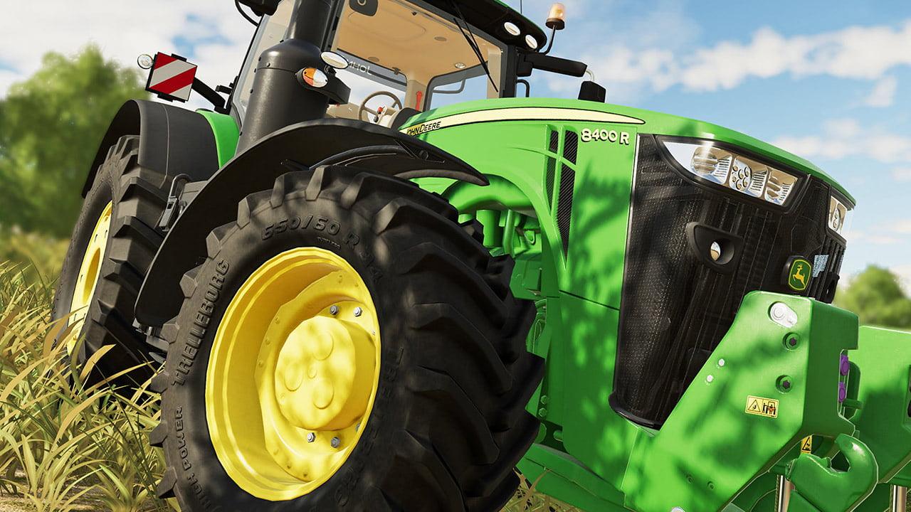 Farming Simulator 19 tractor