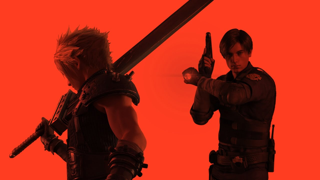 Image result for final fantasy vii and resident evil 2