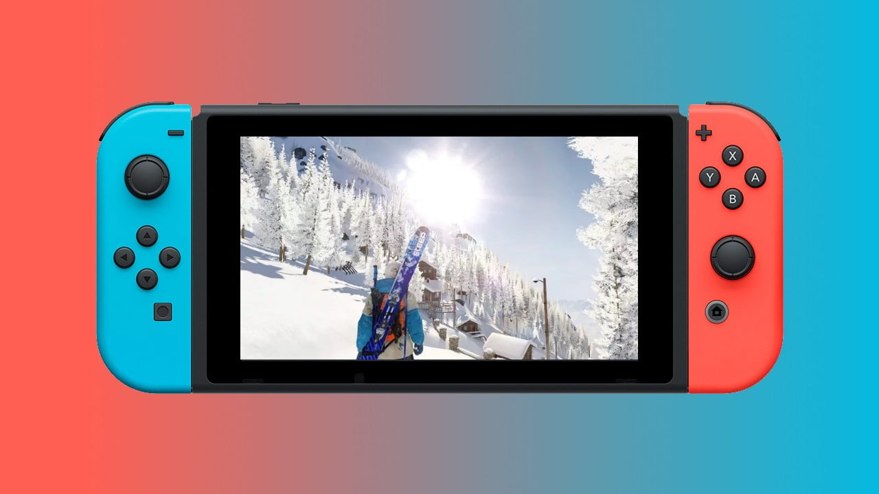 Nintendo Switch on Steep