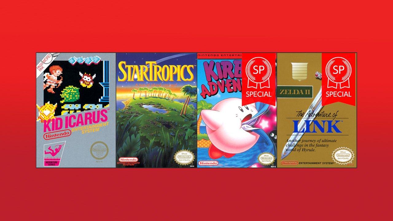 Nintendo Switch Online NES games