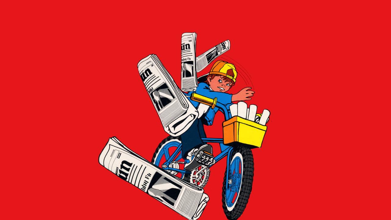 Atari Paperboy artwork