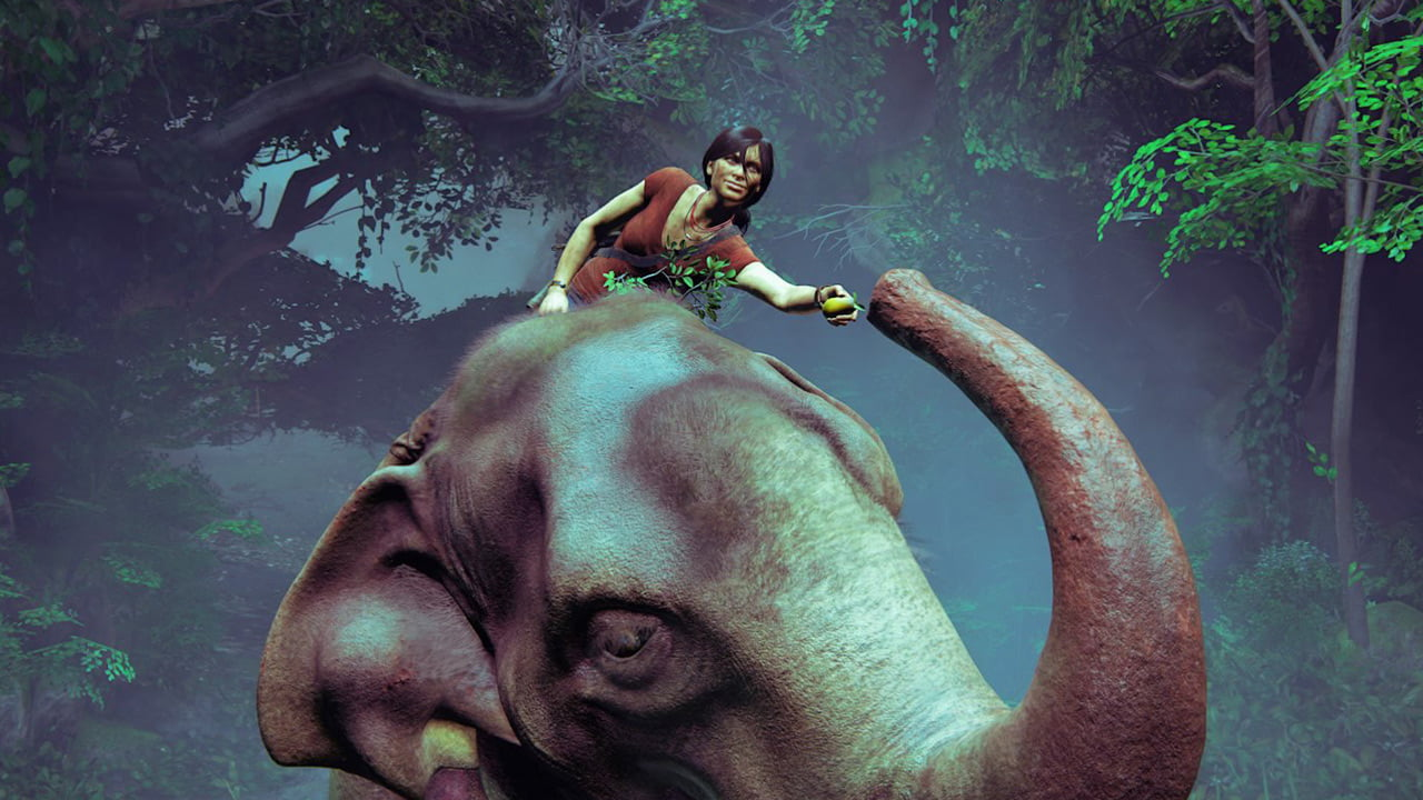 How Design And Story Shaped Uncharted S Elephant Ride Thumbsticks