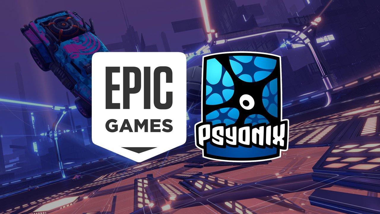 Epic Games buys Rocket League maker Psyonx