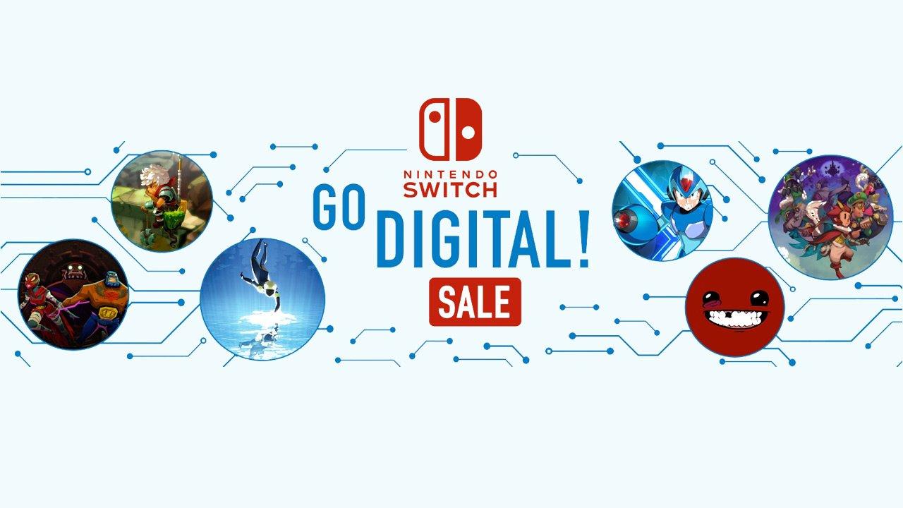 Nintendo Switch Go Digital Sale