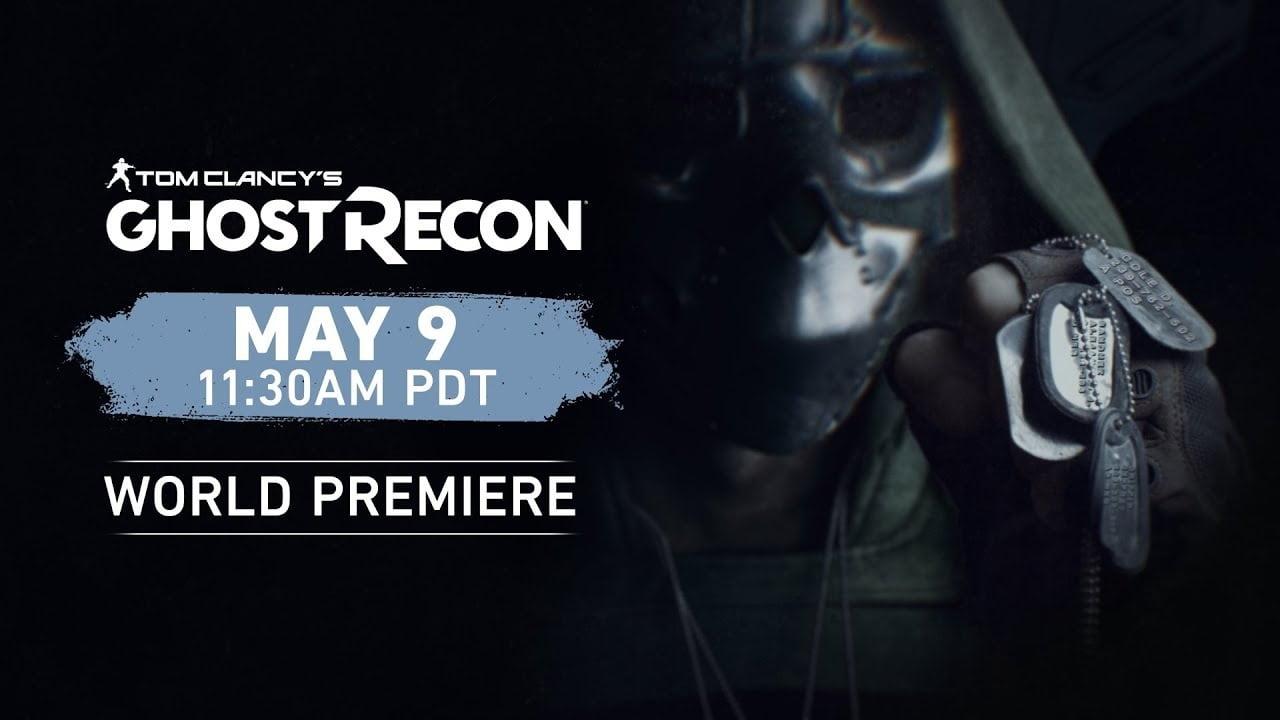 watch Ubisoft Ghost Recon world premiere