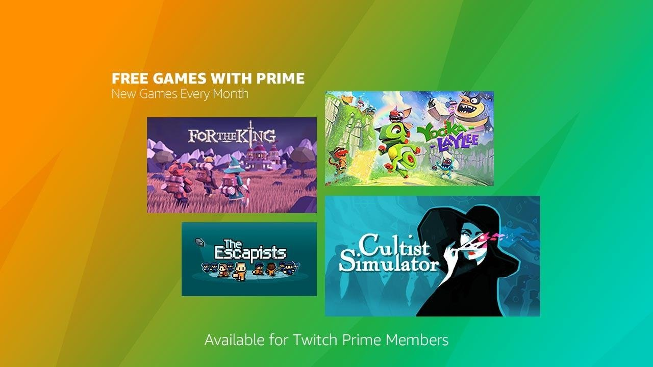 July 2019 Games with Prime