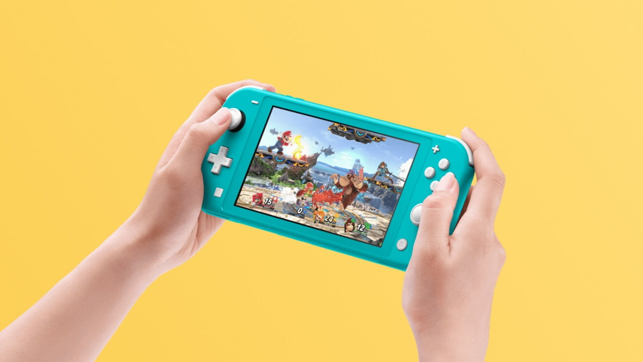 Nintendo Switch Lite turqoise