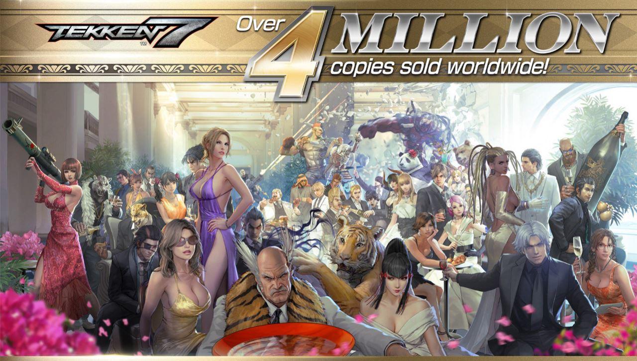 Tekken 7 sells 4 million copies