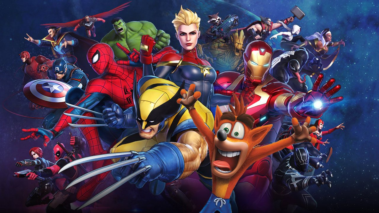 Marvel Ultimate Alliance - Crash Bandicoot