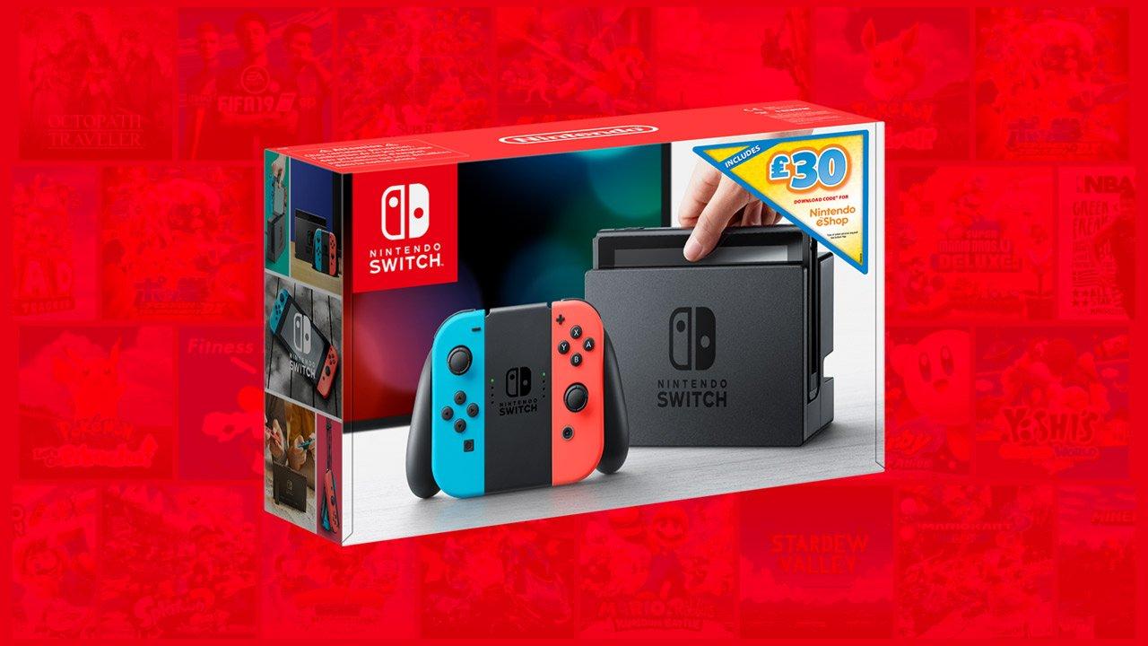 Nintendo Switch bundle eshop credit
