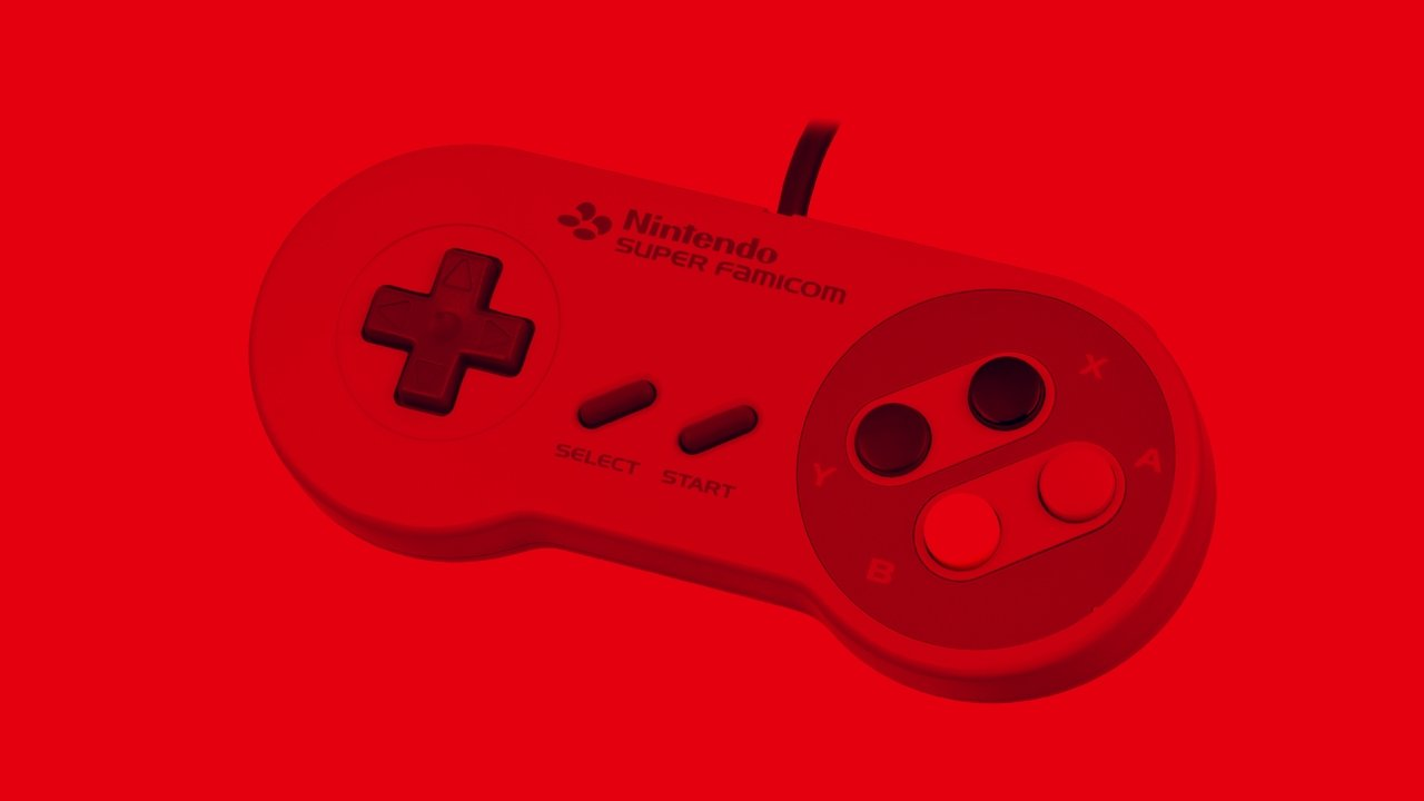 SNES controller for Nintendo Switch