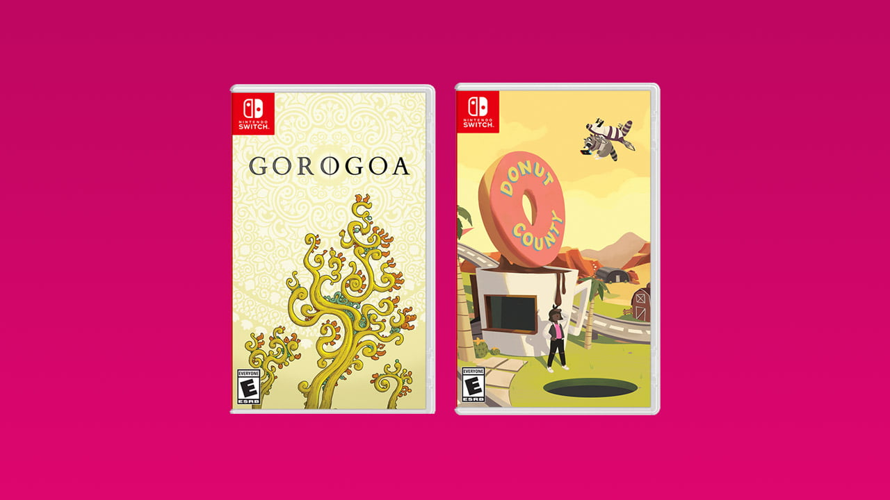 Donut County and Gorogoa - Nintendo Switch games