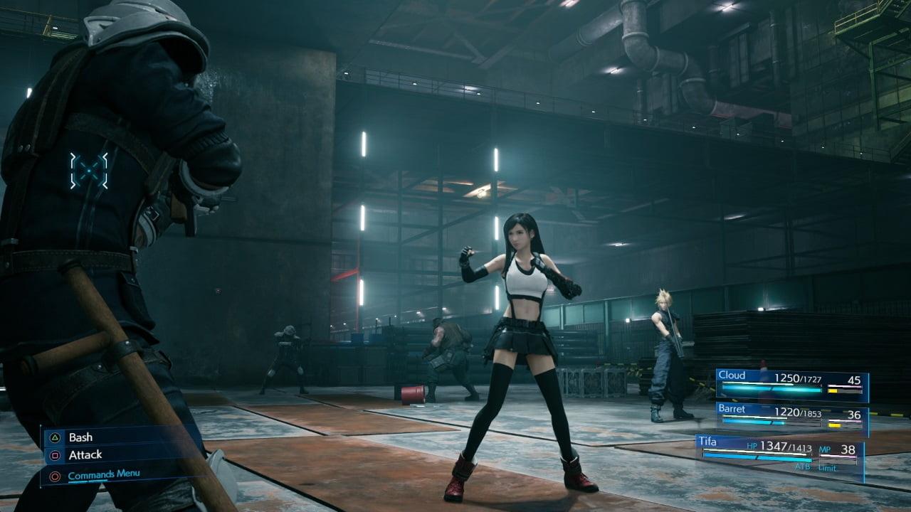 Final Fantasy VII Remake classic combat