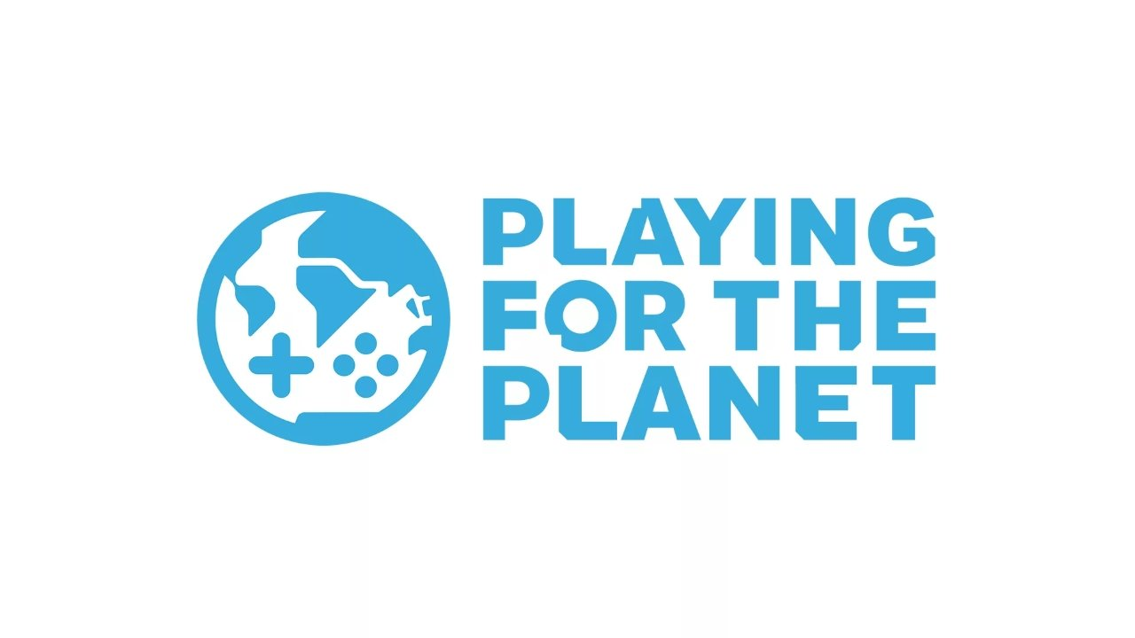 Sony PlayStation UN playing for the planet logo