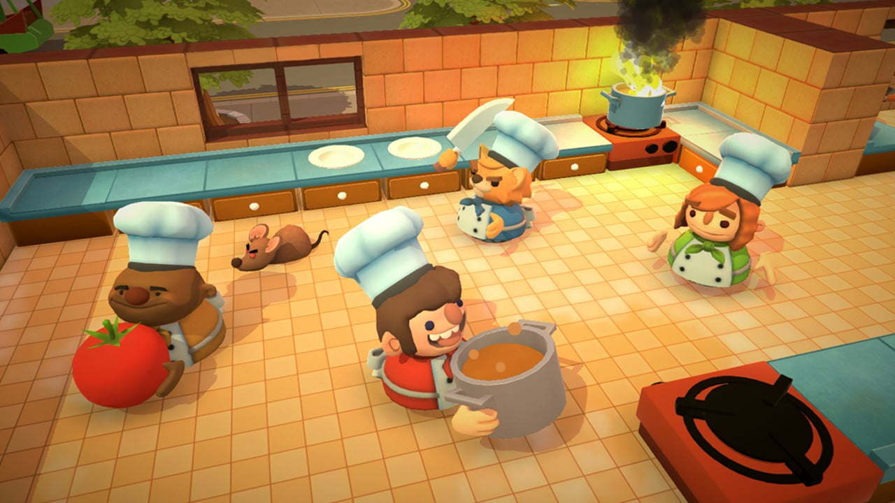 Overcooked couch co-op