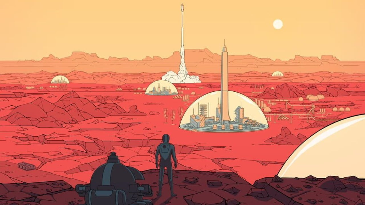 Surviving Mars free Epic Games Store