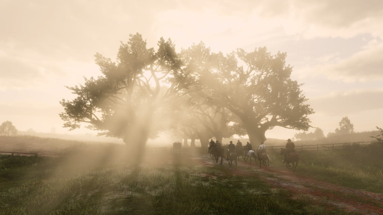 Red Dead Redemption 2 PC screenshot Nvidia