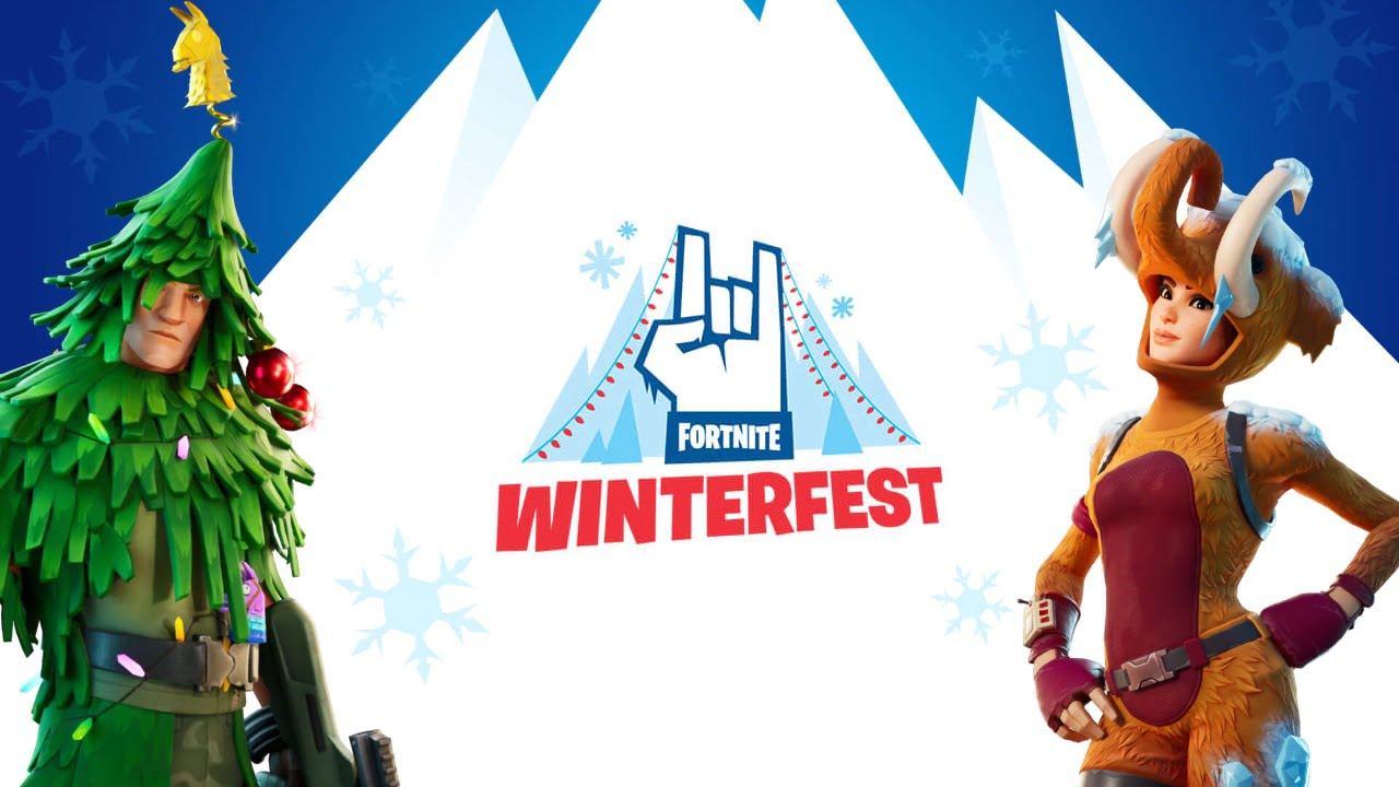 Fortnite Winterfest 2019