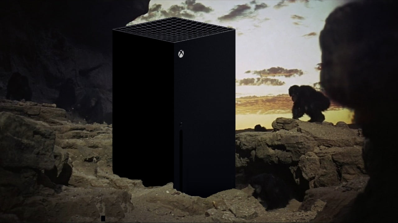 How big is the Xbox Series X