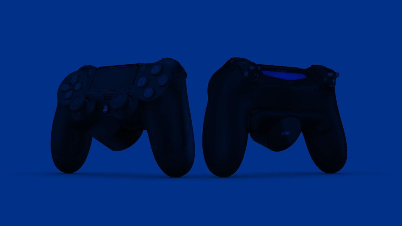 PS4 DualShock 4 controller back button