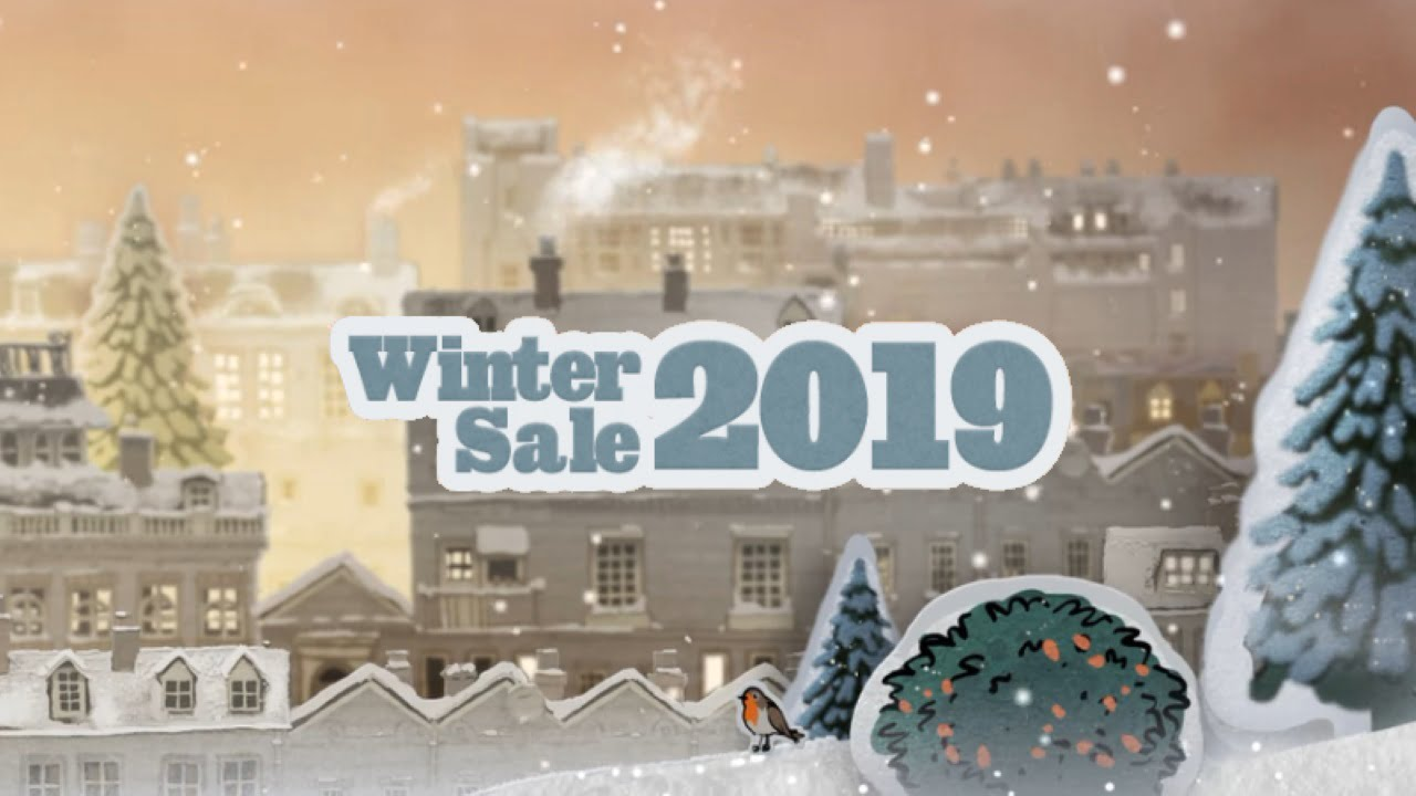 Steam Winter Sale 2019 header