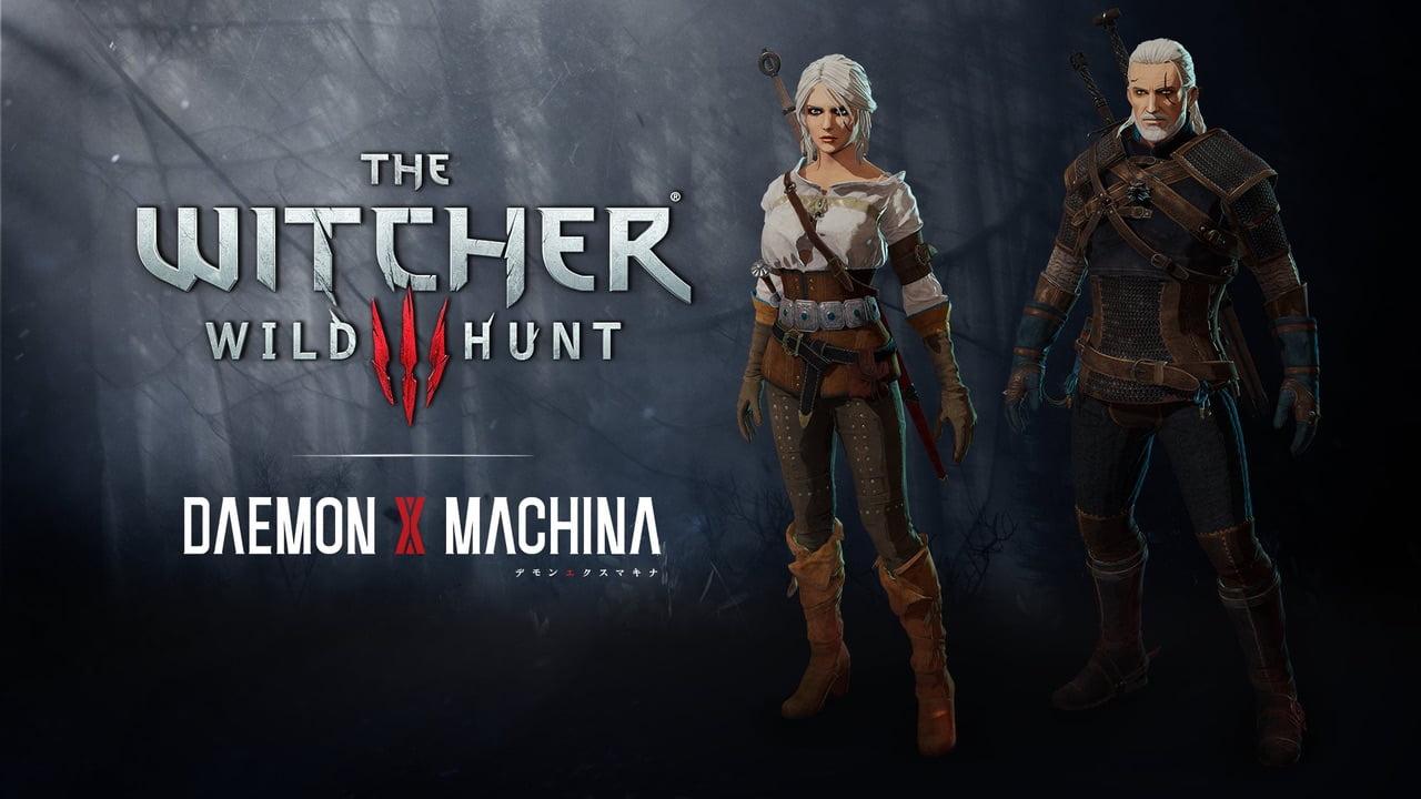 The Witcher 3 Daemon X Machina
