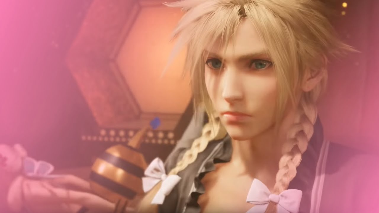Final Fantasy VII Remake Cloud dress