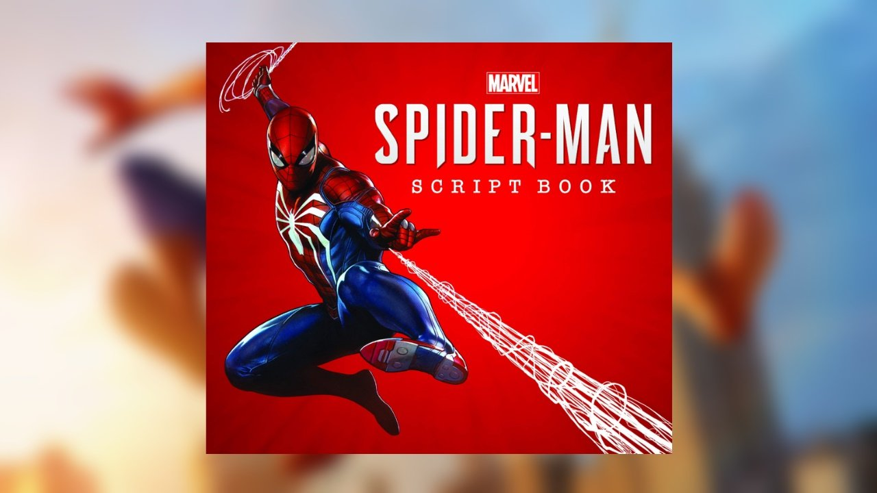 marvel's spider-man script book