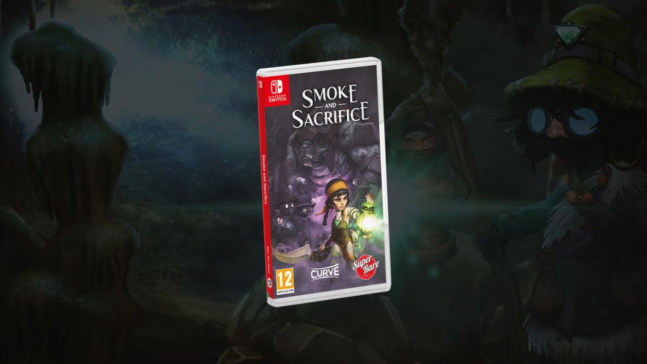 Smoke and Sacrifice - Nintendo Switch physical release