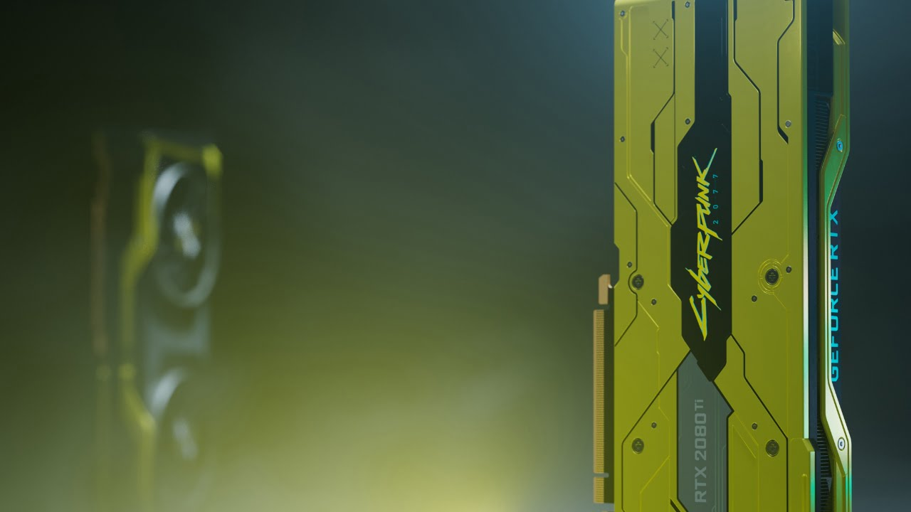 Nvidia RTX 2080 Ti Cyberpunk 2077 edition