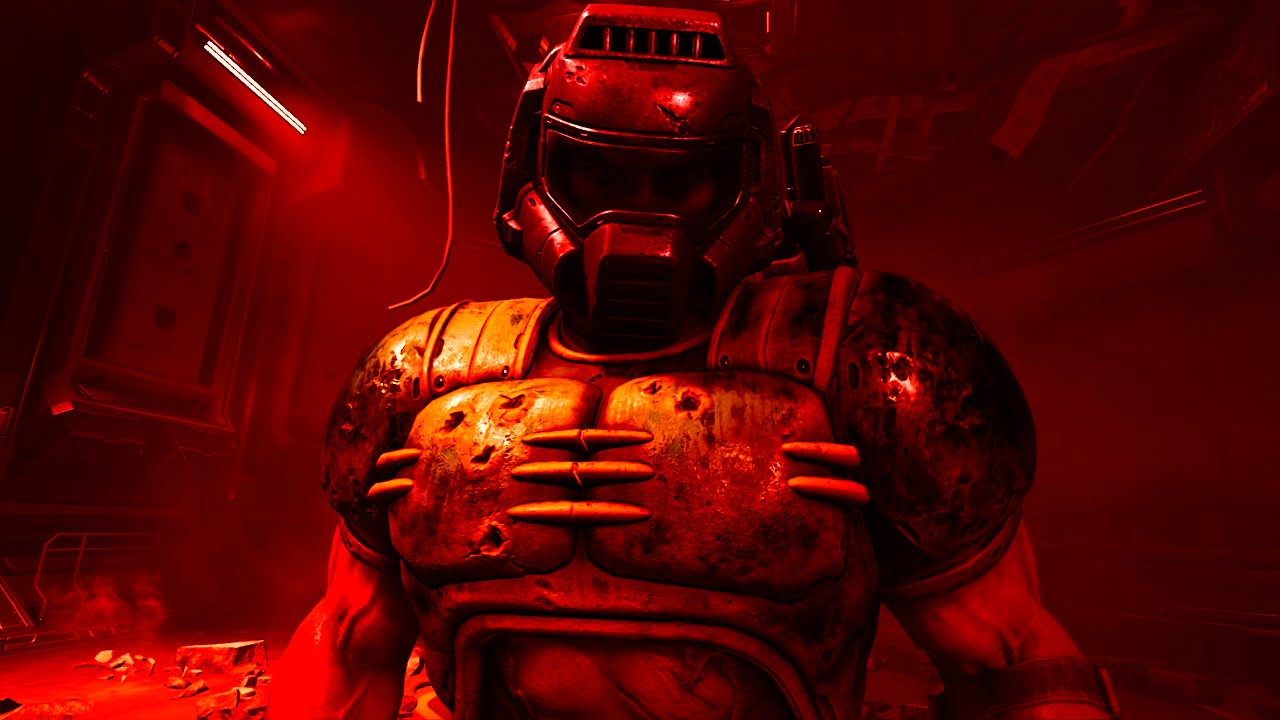 how to unlock Doomguy's retro marine armour in Doom Eternal