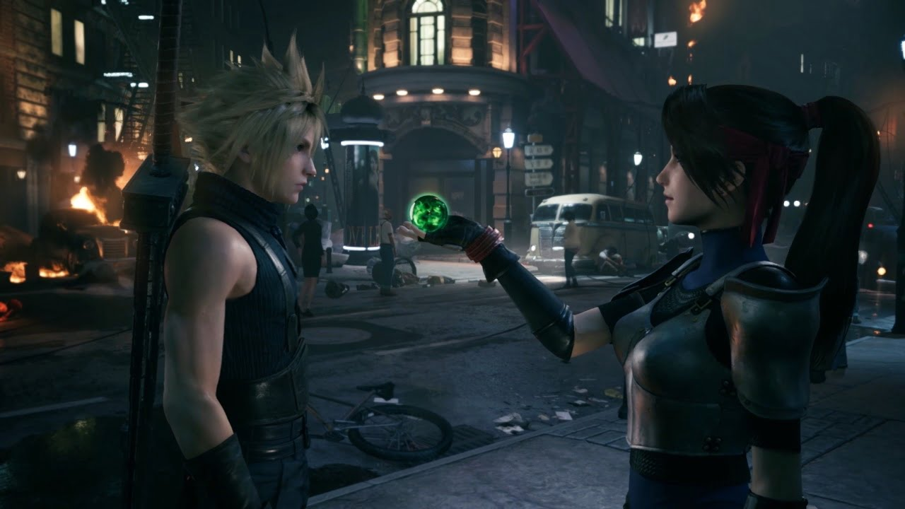 Final Fantasy VII Remake Cloud Jessie