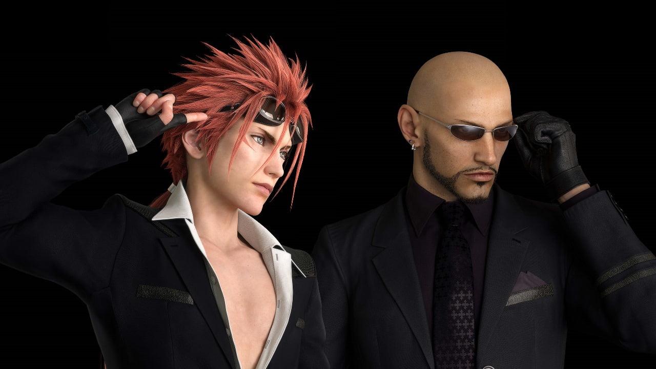 Reno Rude Final Fantasy VII Remake