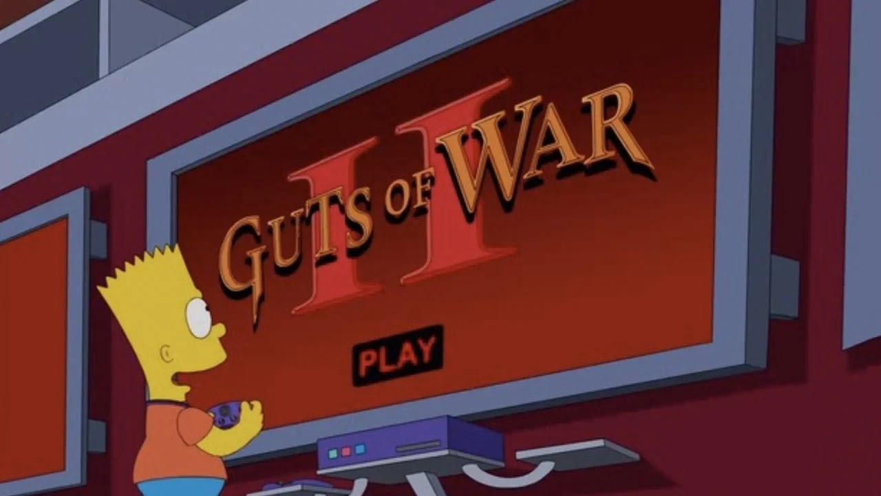 fictional video games in The Simpsons