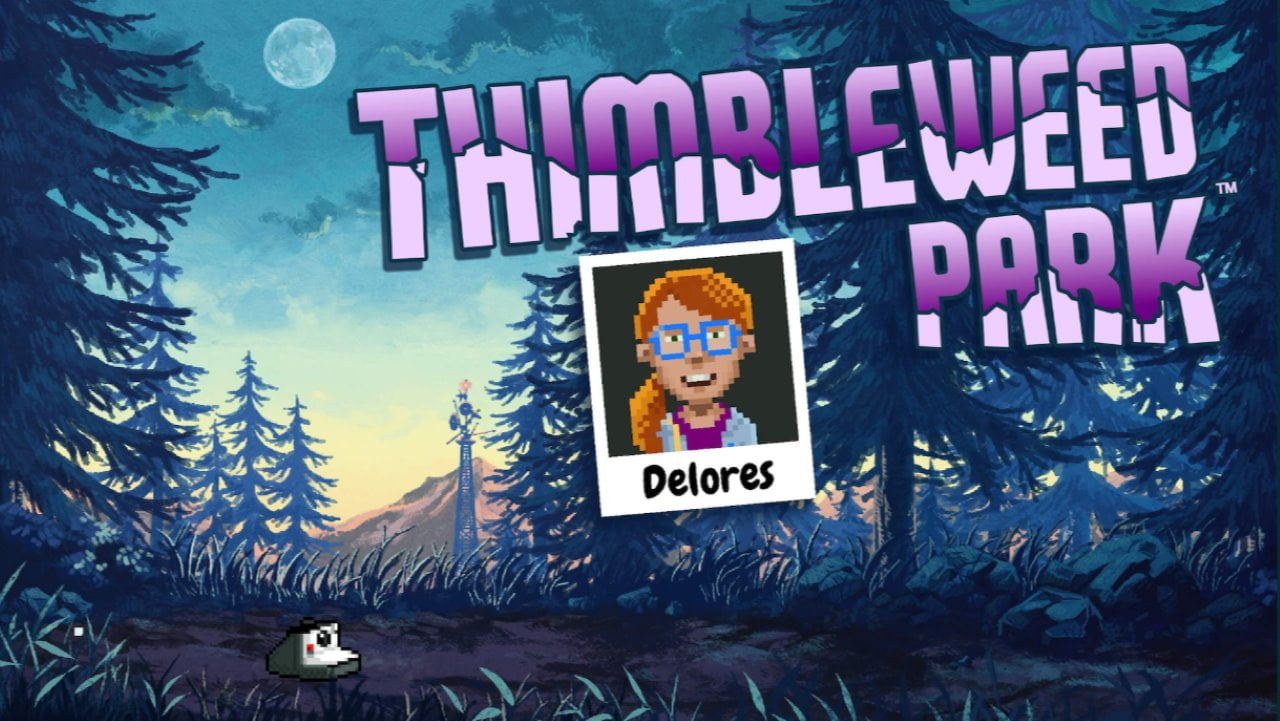 Delores Thimbleweed Park Mini Adventure free