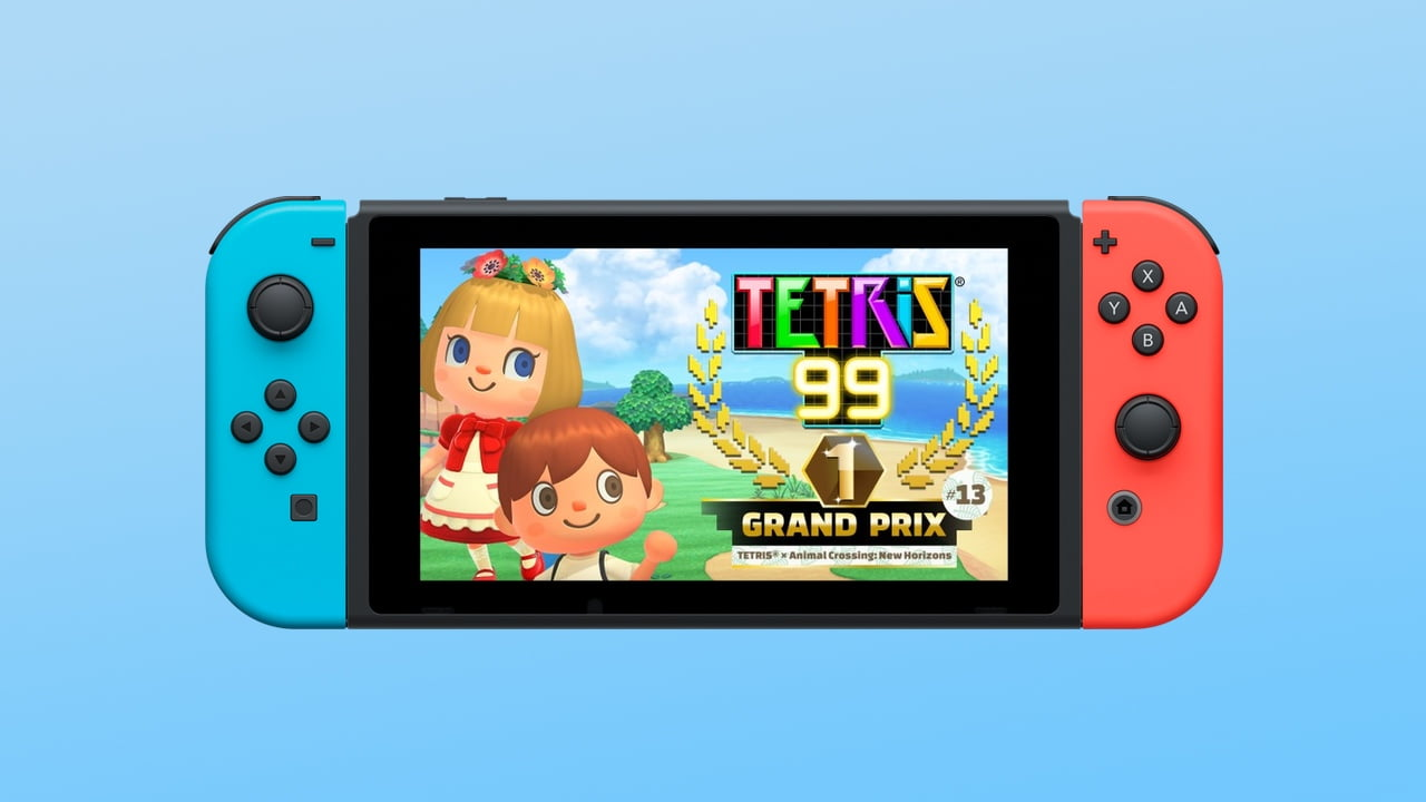 Tetris 99 Animal Crossing New Horizons