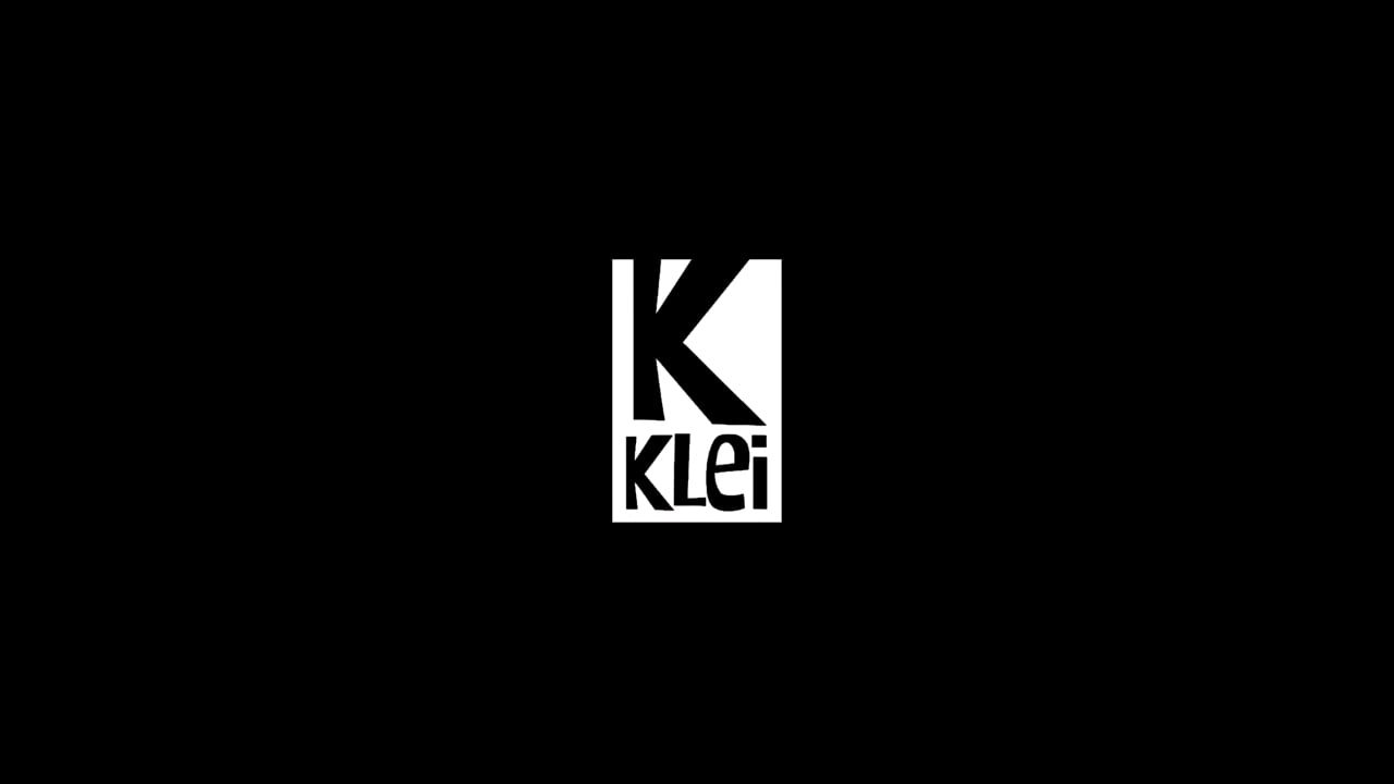 Klei logo black