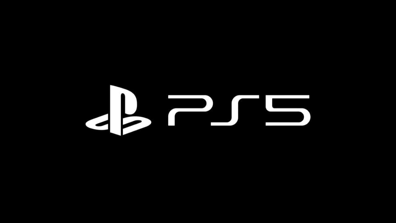 PlayStation 5 logo black