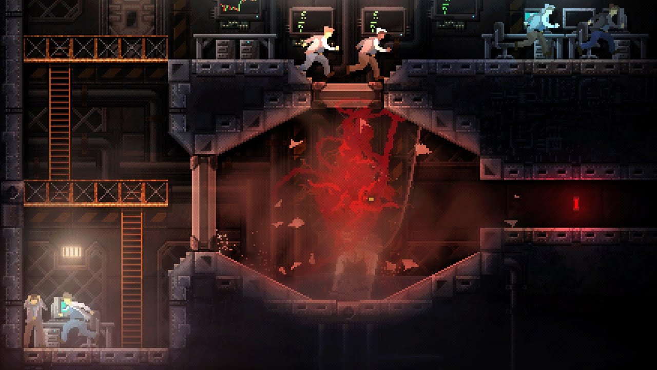 Carrion game screenshot