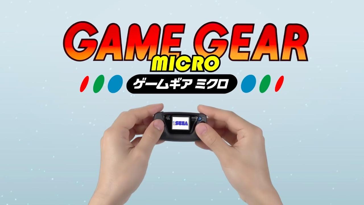 Sega announces the Game Gear Micro