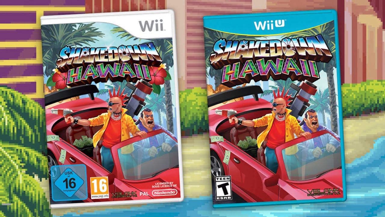 Shakedown: Hawaii - Nintendo Wii and Wii U
