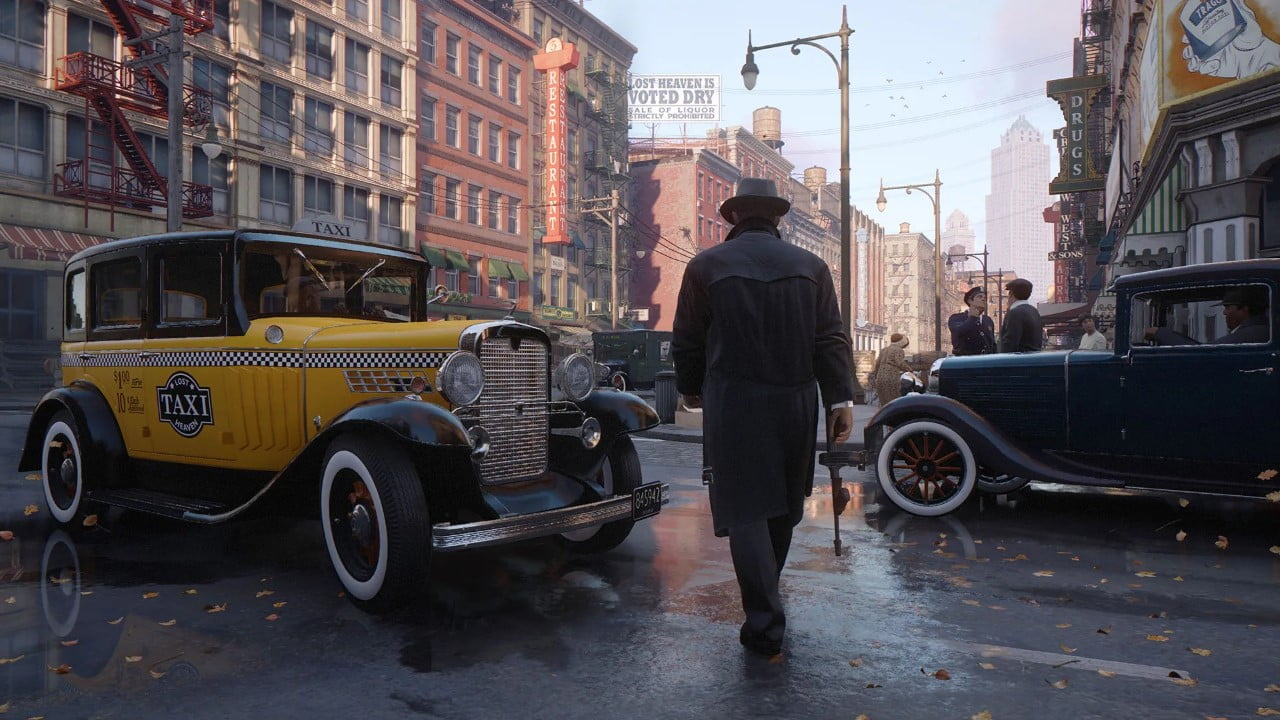 Mafia Definitive Edition delayed