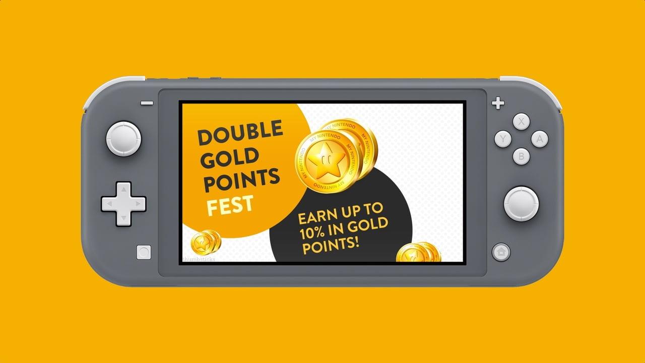 Nintendo eShop Double Gold Points Fest