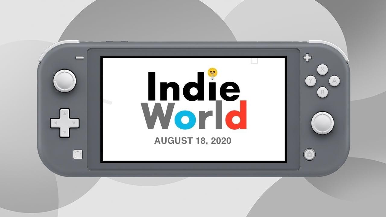 Nintendo Indie World Showcase August 2020