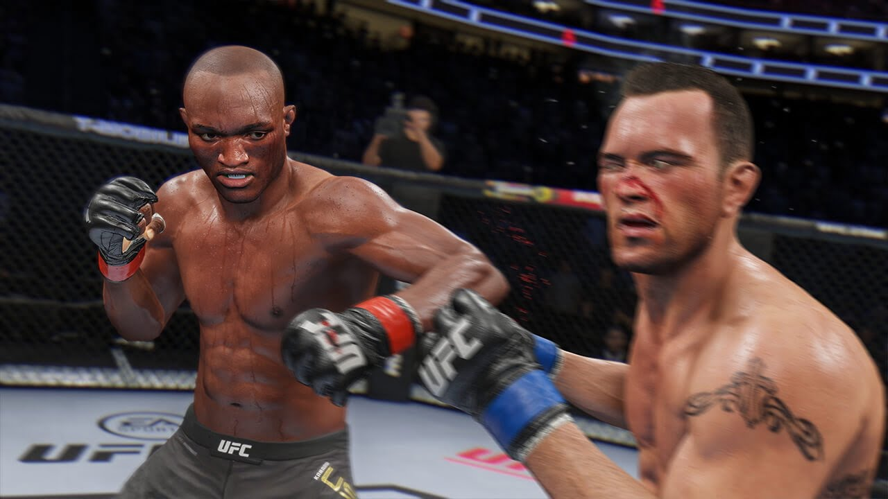 UFC 4 UK video game chart