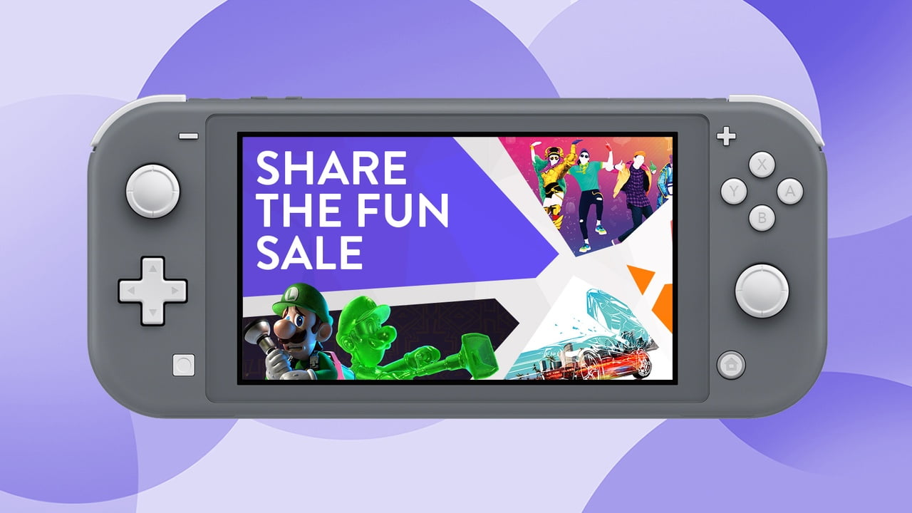 Nintendo Switch Share the Fun Sale