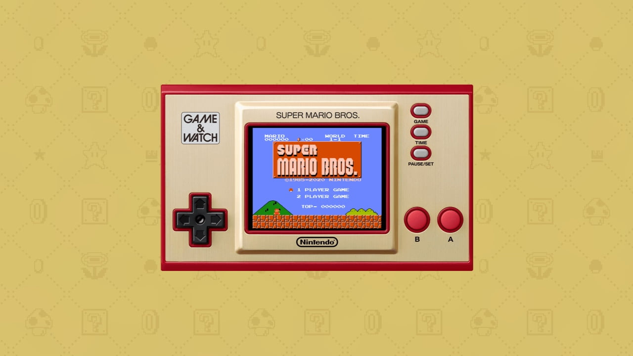 Nintendo Game & Watch: Super Mario Bros system