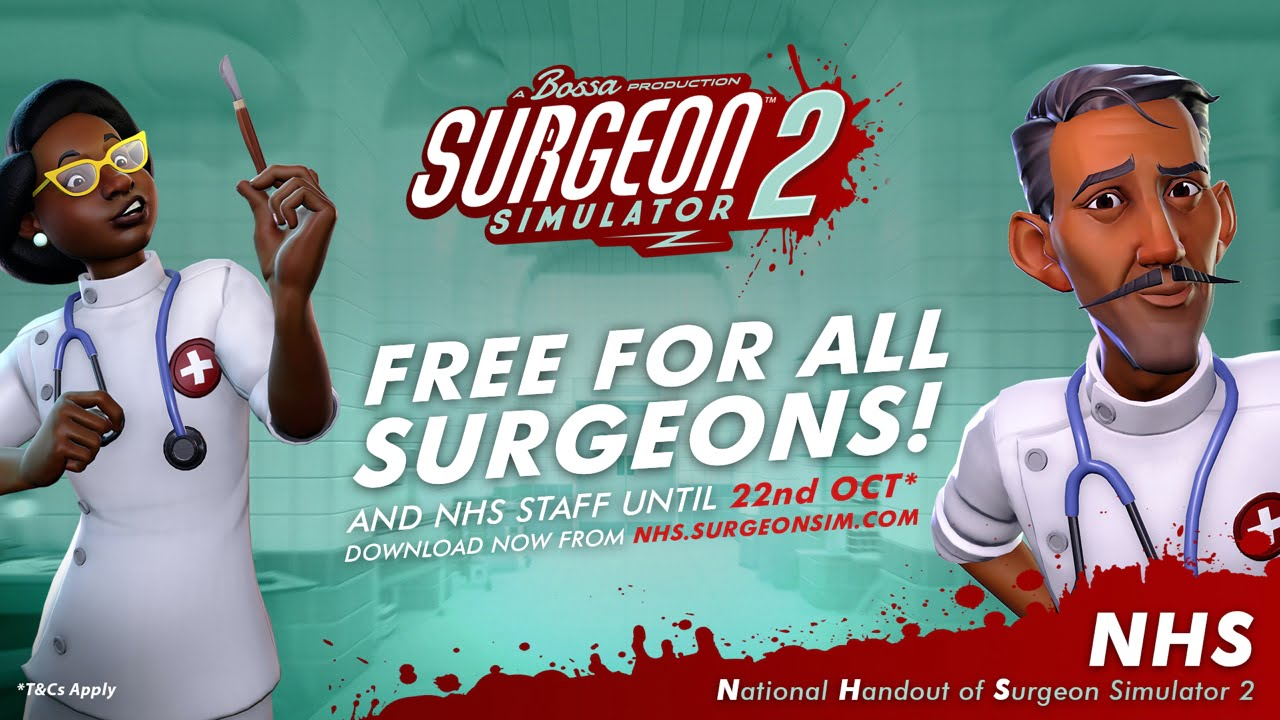Surgeon Simulator 2 - NHS