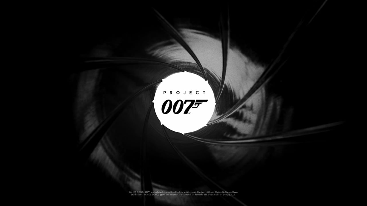 Project 007 logo - James Bond